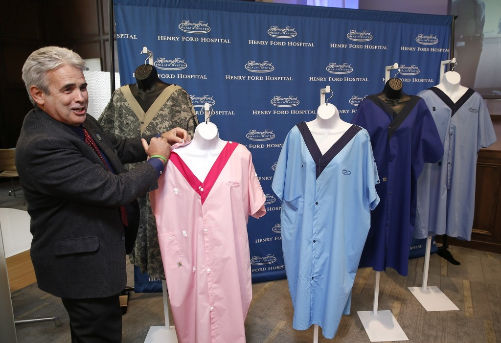 Health system reveals hospital gown to cover rears | The Columbian