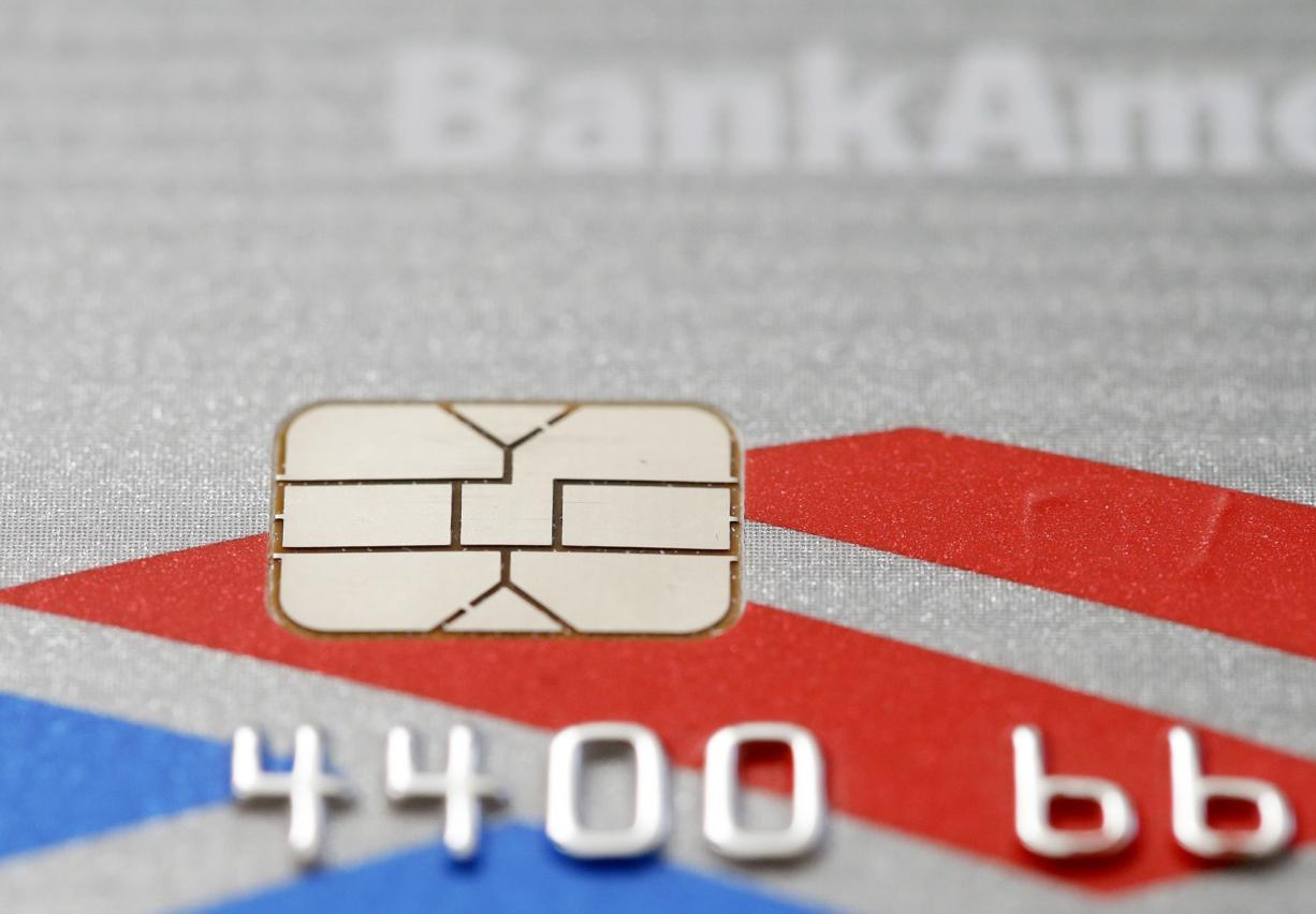 New credit and debit cards with computer chips are putting the squeeze on small businesses, forcing them to spend hundreds or thousands of dollars on new payment systems and consultants to install them.