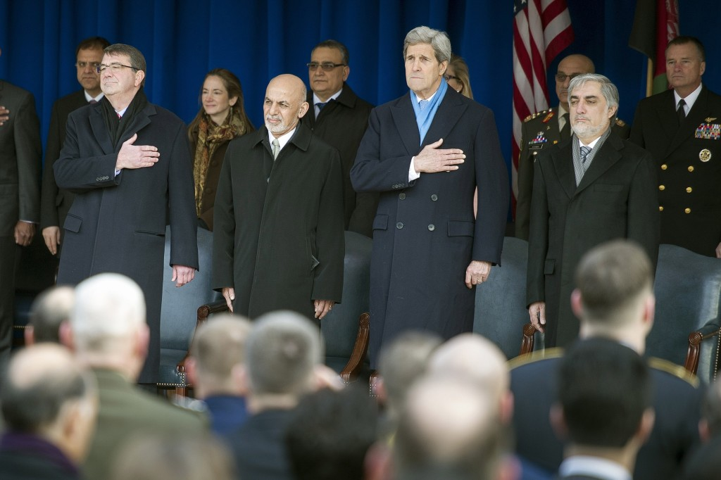 At Pentagon, Afghan president thanks U S  troops | The Columbian