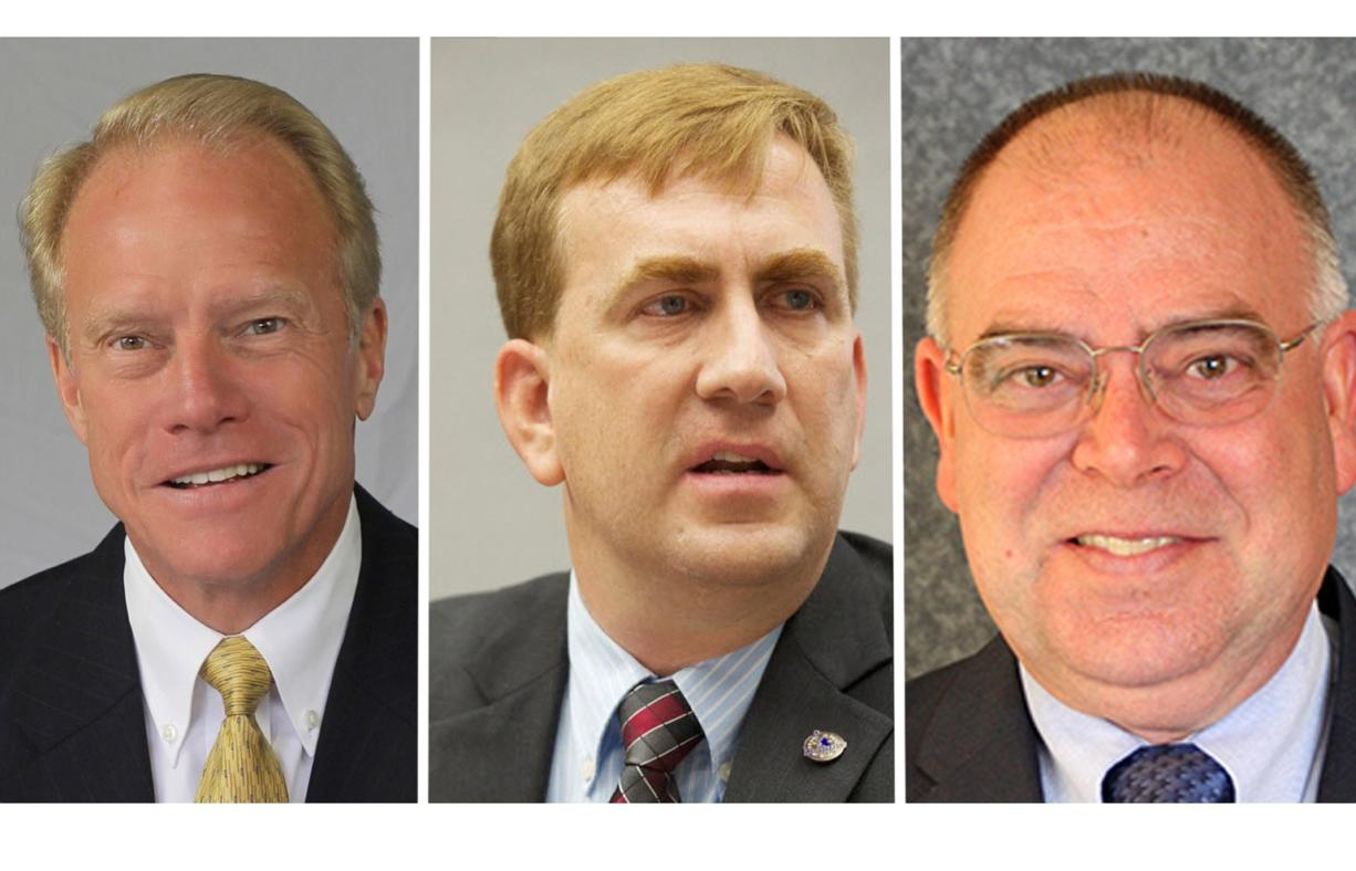 17th District Candidates, Pos. 2: Rep. Paul Harris, Chris Rockhold, Richard McCluskey
