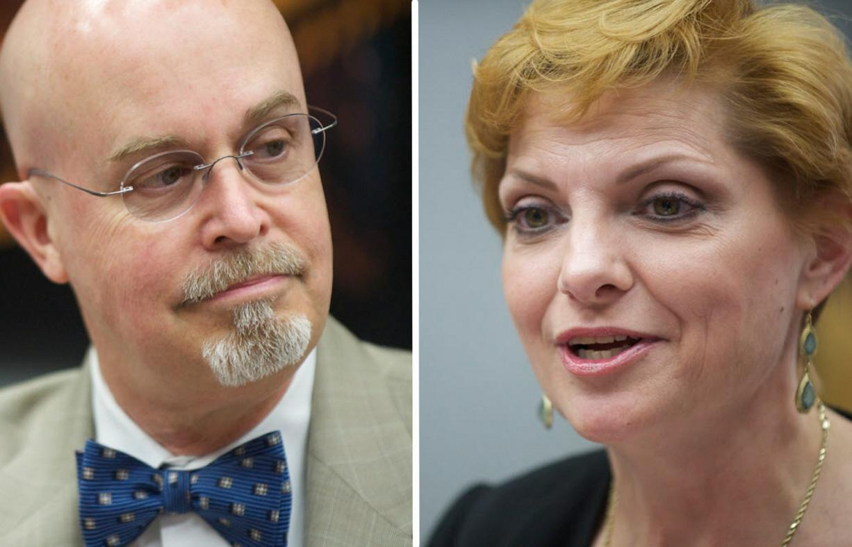 49th District, Position 2 candidates: Incumbent Jim Moeller (D) and Lisa Ross (R).