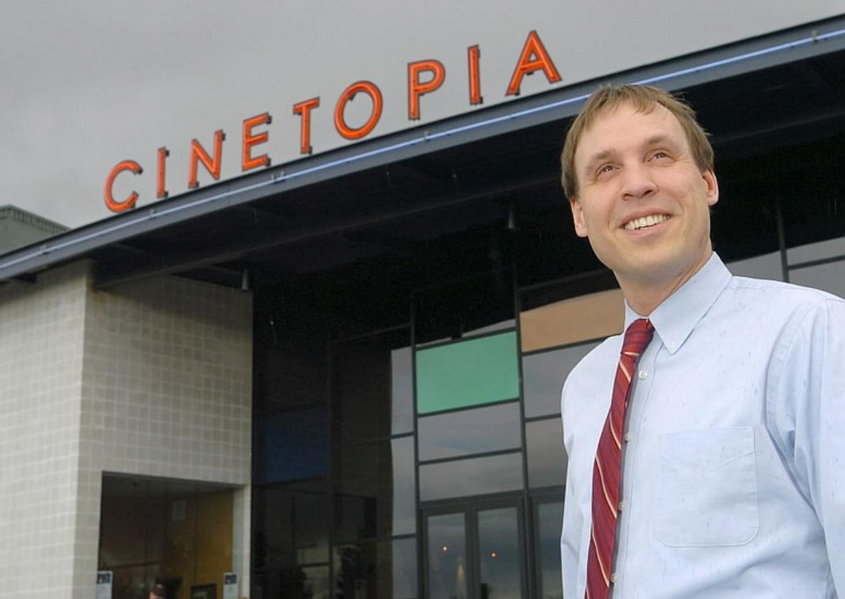 Cinetopia LLC owner Rudyard Coltman plans to build a 24-screen movie complex at Westfield Vancouver mall.