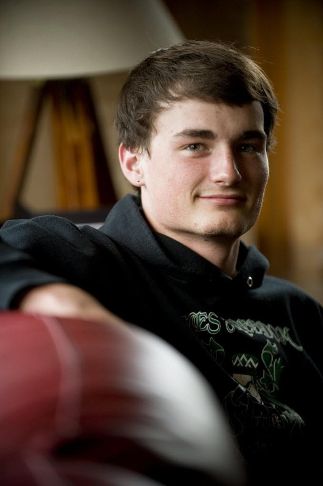 Hayes Freedom High School graduate, Kurtis Moody, poses in this Columbian file photo from June 2, 2011.