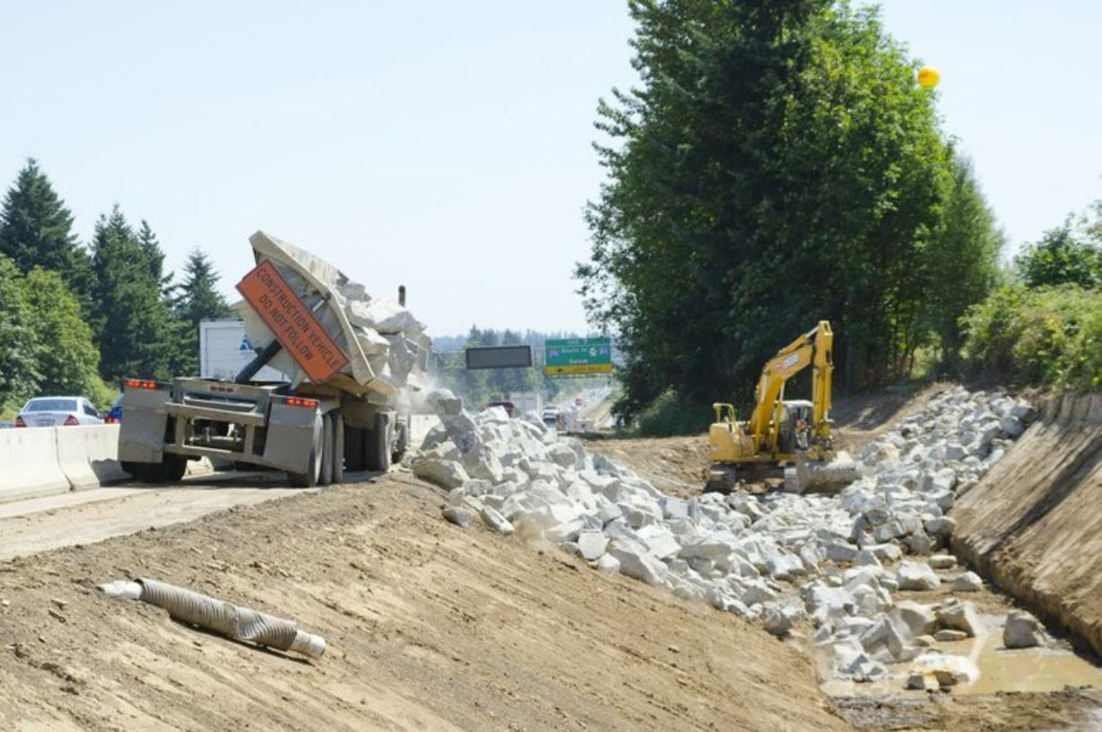 The Salmon Creek Interstate Project is among several major transportation projects currently under way in Clark County.
