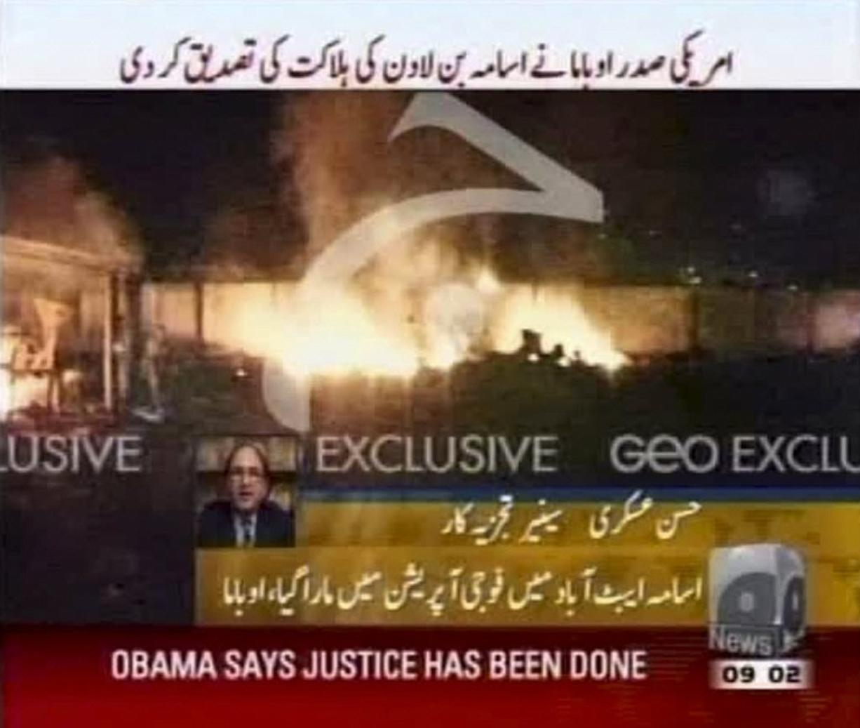 Word from Pakistan on how bin Laden died - Columbian com