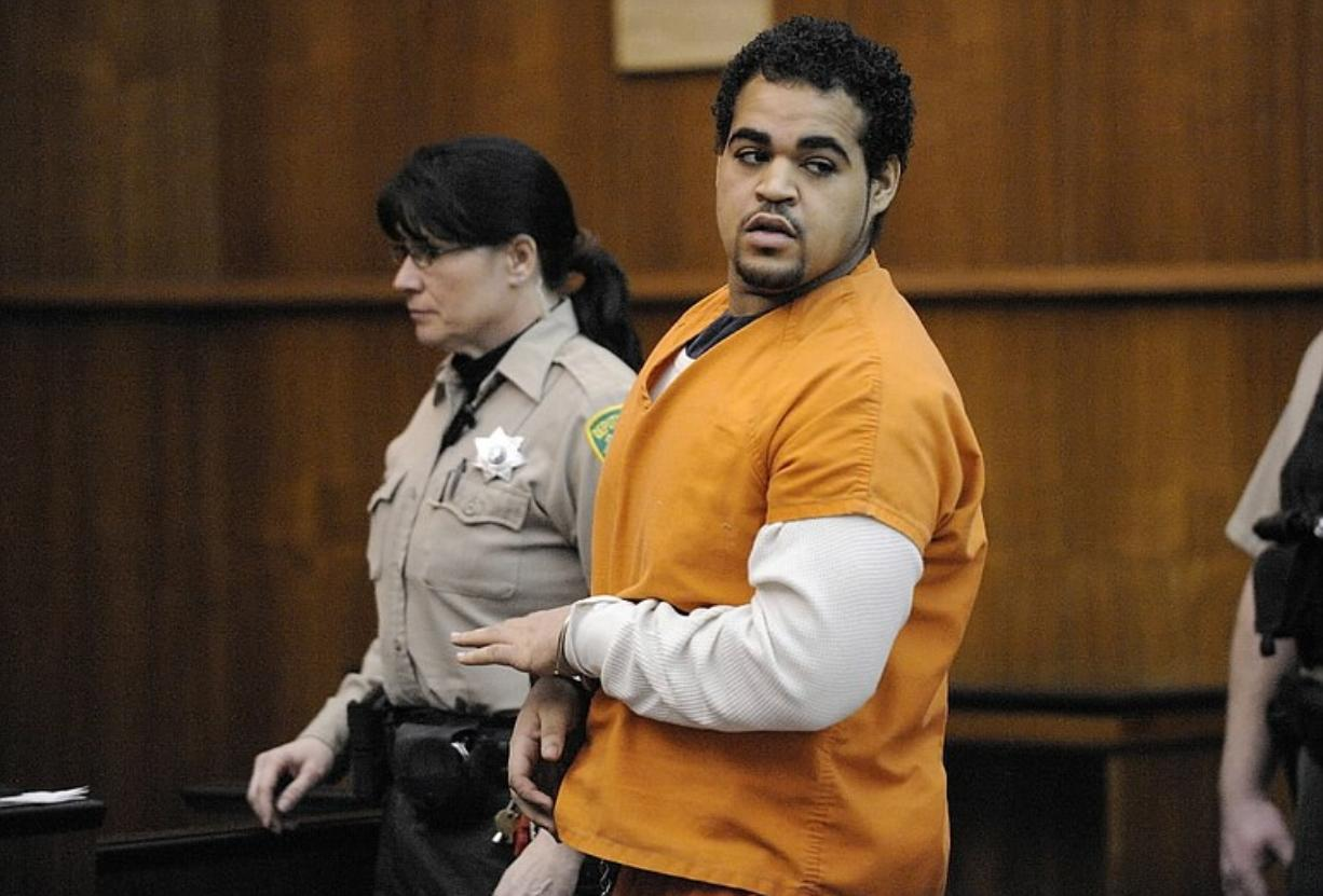 Antonio Cellestine plead was sentenced to 5 years in prison after pleading guilty to vehicular homicide and felony hit and run in the death of Hudson's Bay teacher Gordon Patterson at the Clark County Courthouse.