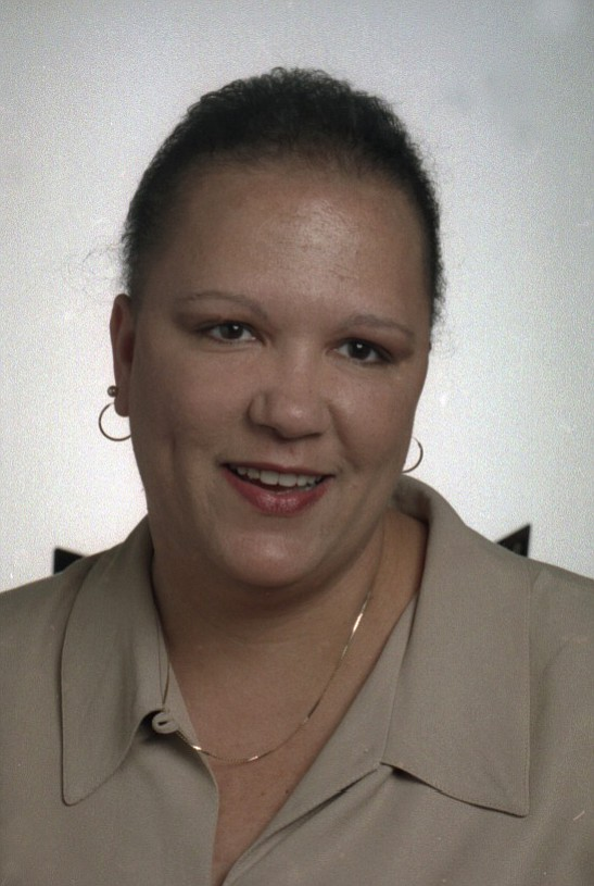 Marie Bruin shown in June 1997, searching for her birth parents