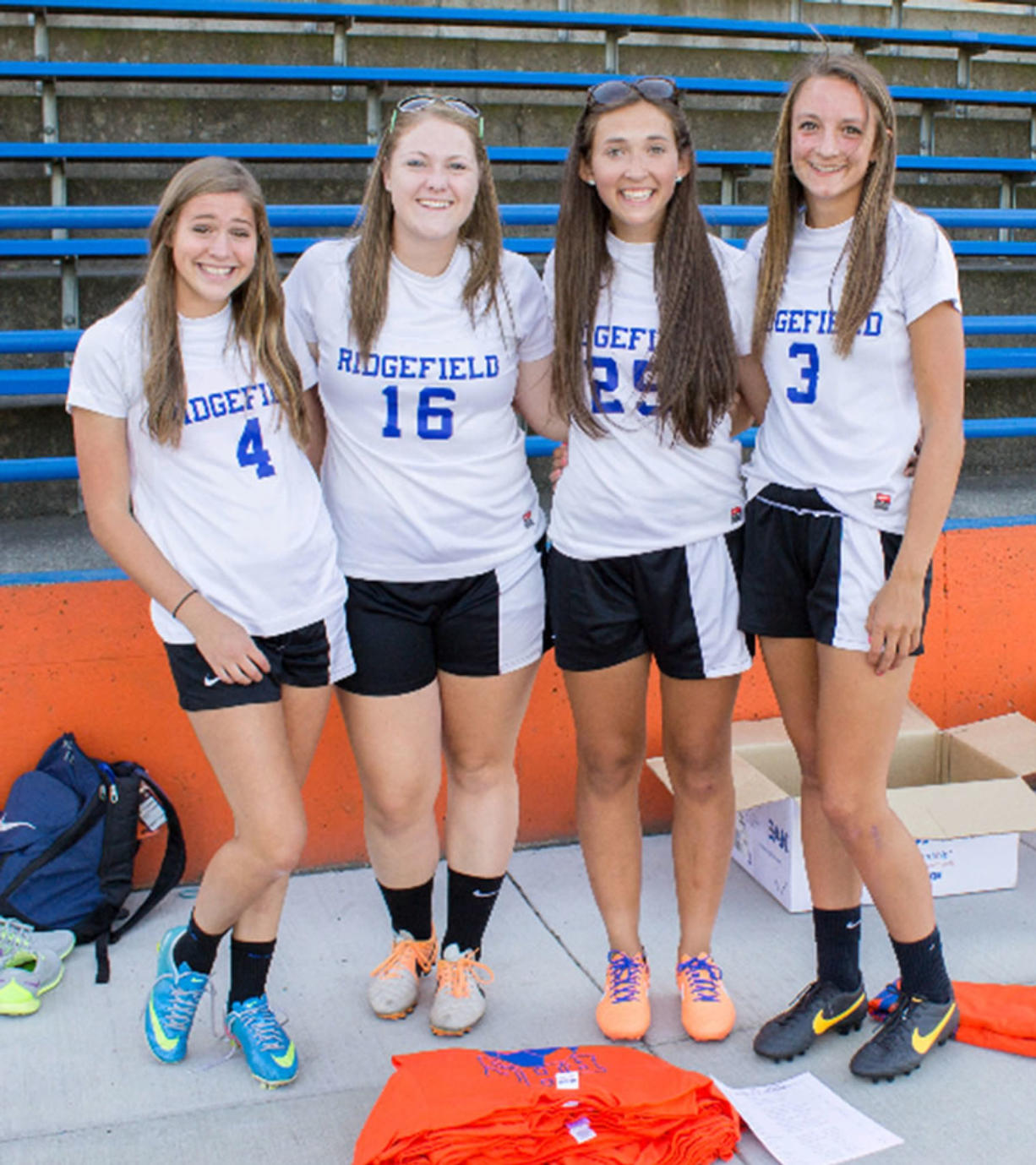 Ridgefield High School Girls Take Charge Of Summer Soccer Camp - Columbiancom-9542