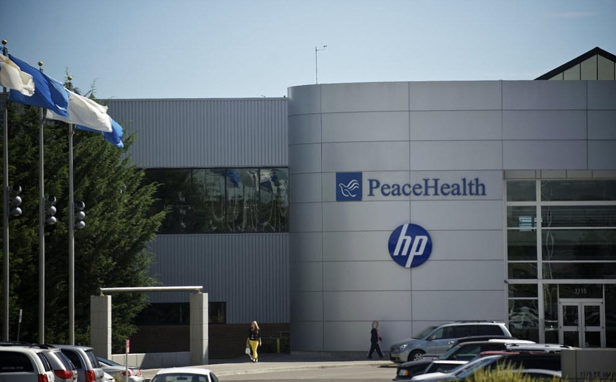 The PeaceHealth headquarters in east Vancouver.