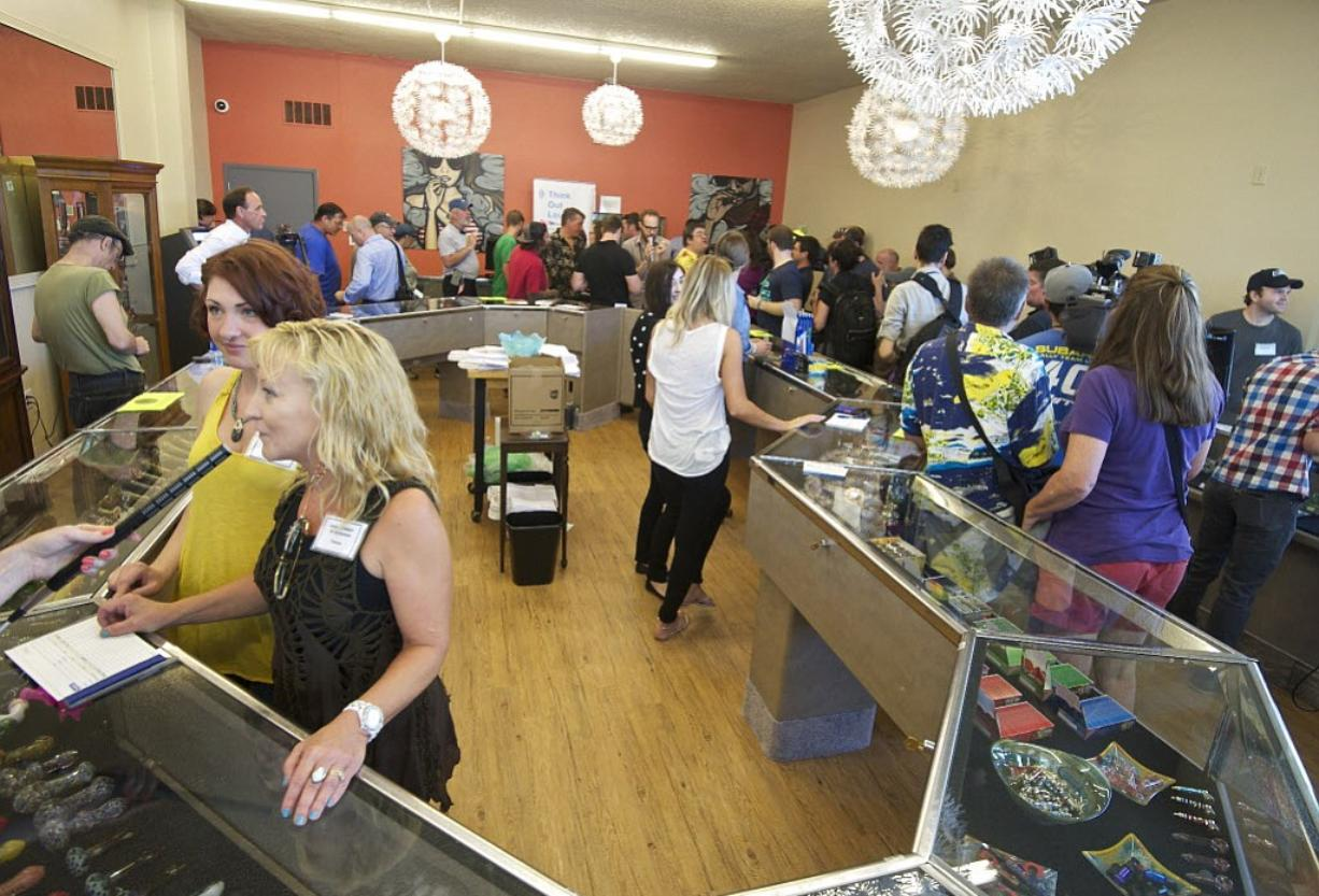 Main Street Marijuana opened to the public for the first time on July 9.