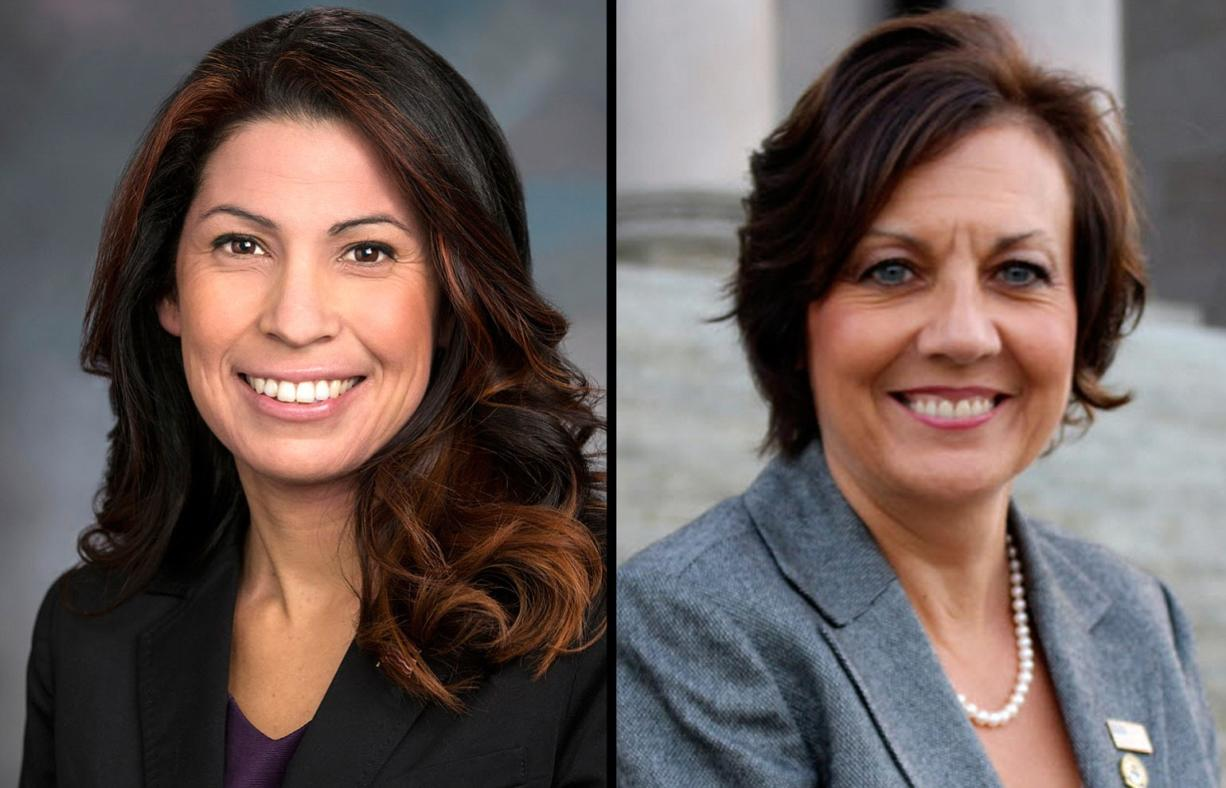17th Legislative District candidates: Incumbent Monica Stonier, D, and Lynda Wilson, R.