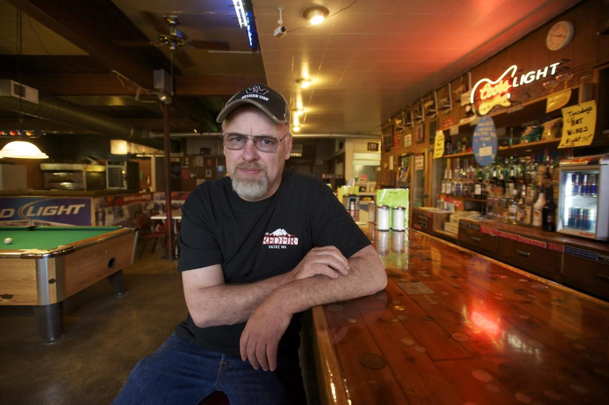 Dave Ayers said he hopes to sell the Red Fir, a Yacolt watering hole since 1963, and plans to retire.