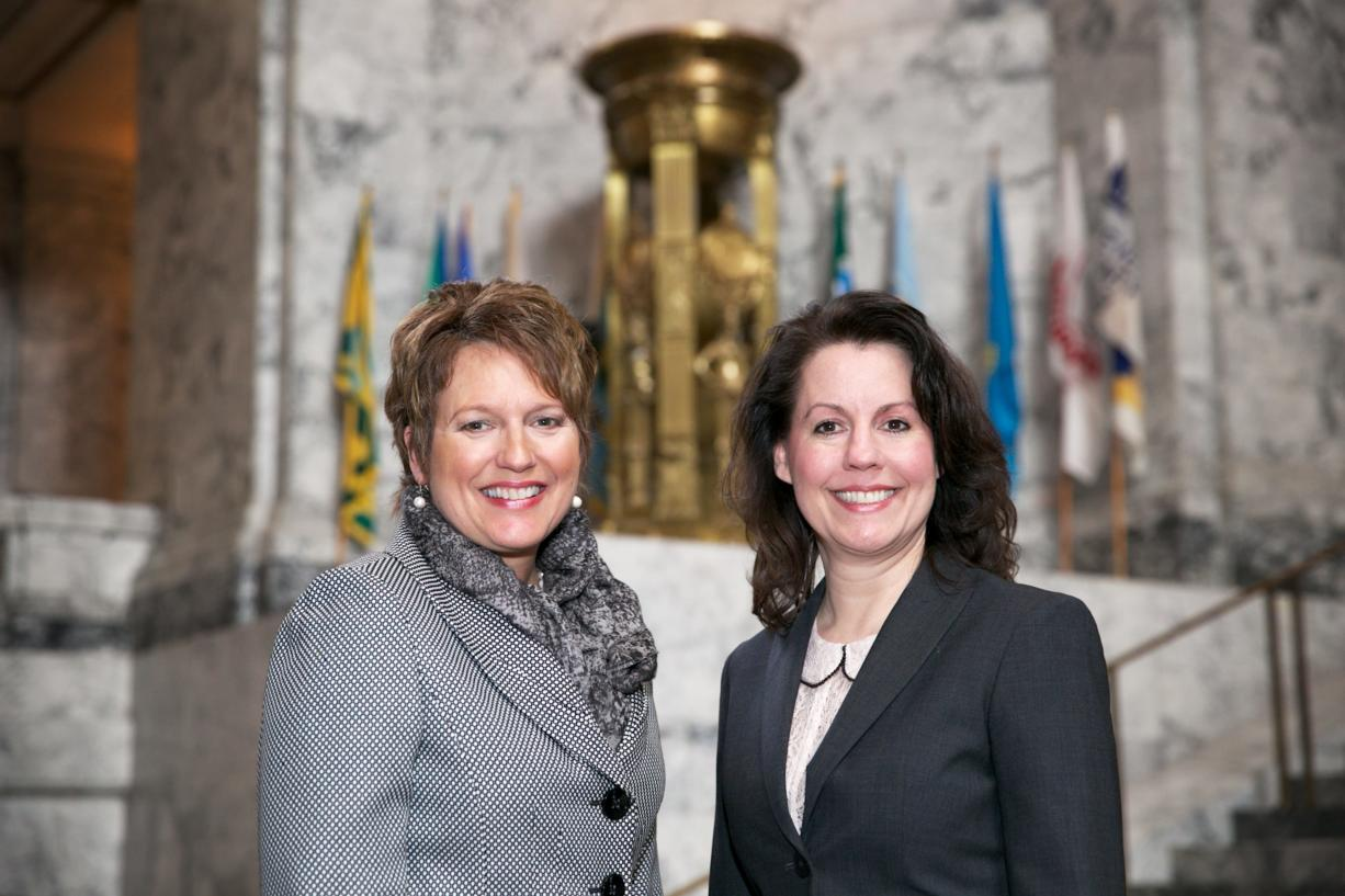 State Rep. Liz Pike, R-Camas, and state Sen.