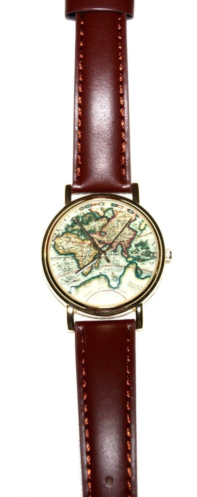 Urban Outfitters World Map Watch.Map Motifs Chart Course In Fashion This Season The Columbian