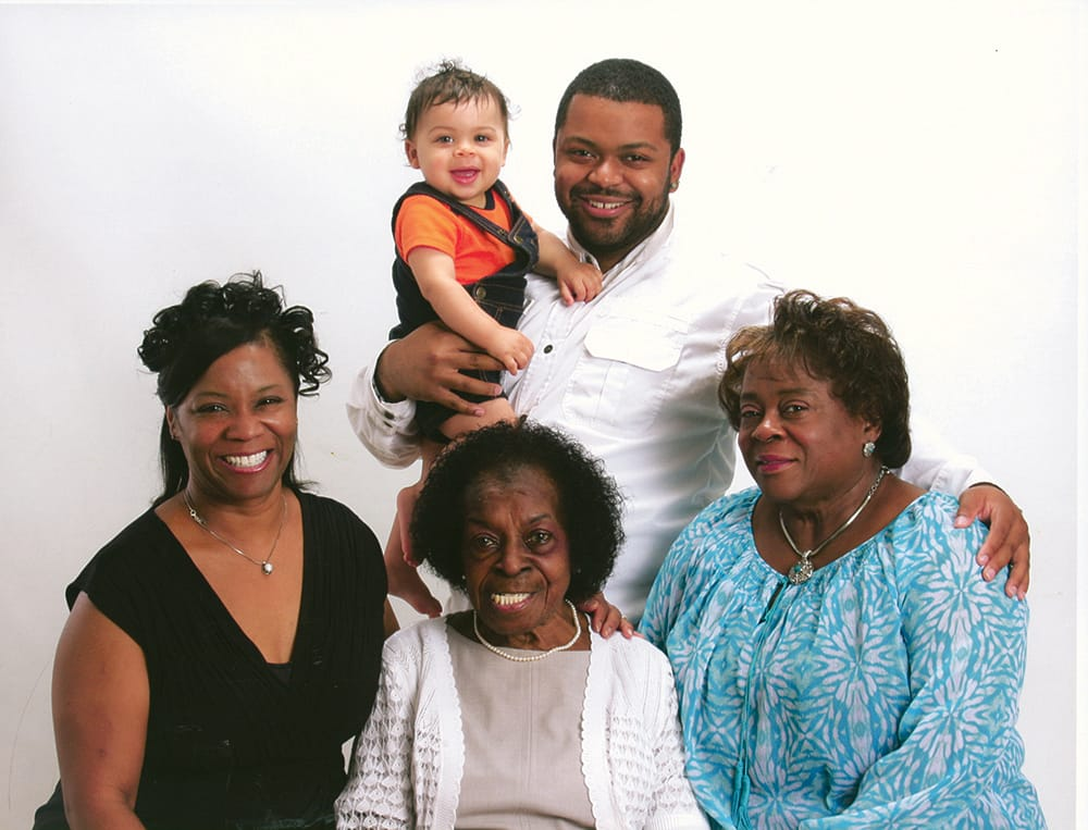 5generations Jackson family The Columbian