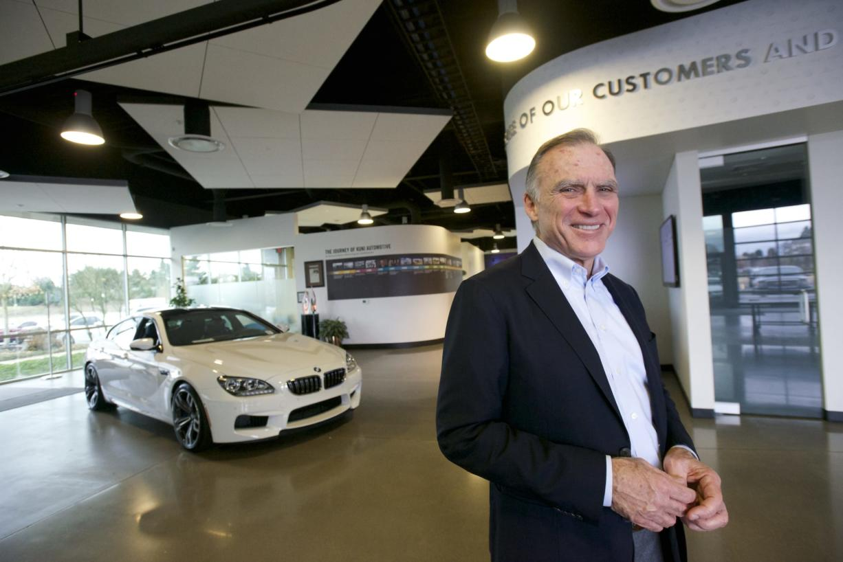 Kuni Auto Group President Greg Goodwin will be recognized today with a Patriot Award from a Department of Defense-backed support organization for veterans.