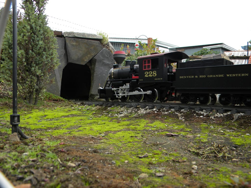 Backyard Railroad Locomotives bits 'n' pieces: backyard railroad a world of its own | the columbian