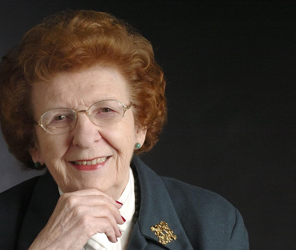 Val Ogden, who was the First Citizen of Clark County in 2006, a former state representative and House Speaker Pro Tempore and more recently, a freeholder, died April 9, 2014. She was 90.