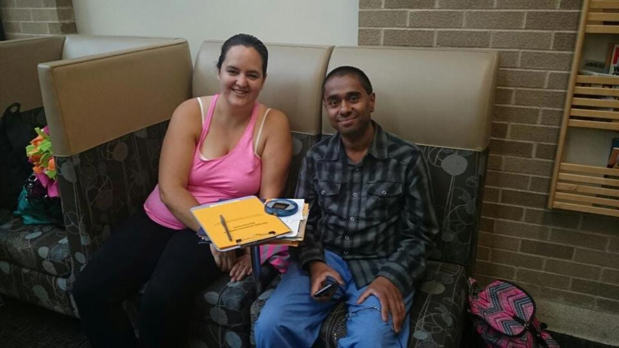 Kia Calderon-Dillon of Stevenson traveled to Ann Arbor, Mich., this summer to donate a kidney to a man she met on Facebook.