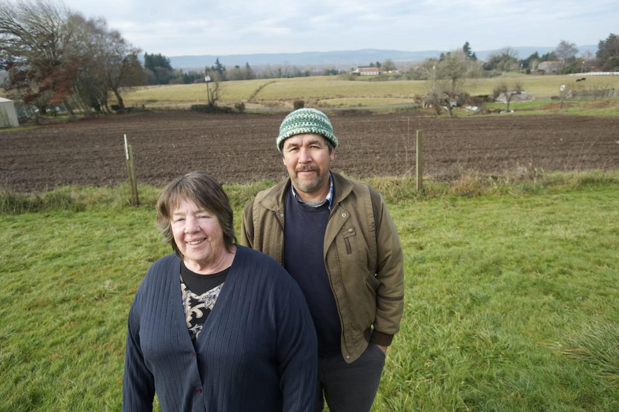 """Northwest Organic Farms operators Joyce Haines and Greg Valdivia see education as part of the job of running the Ridgefield-area farm. """"I wish we could get more kids from schools to come out,"""" Haines said. """"A lot of kids don't have any idea where their food comes from."""