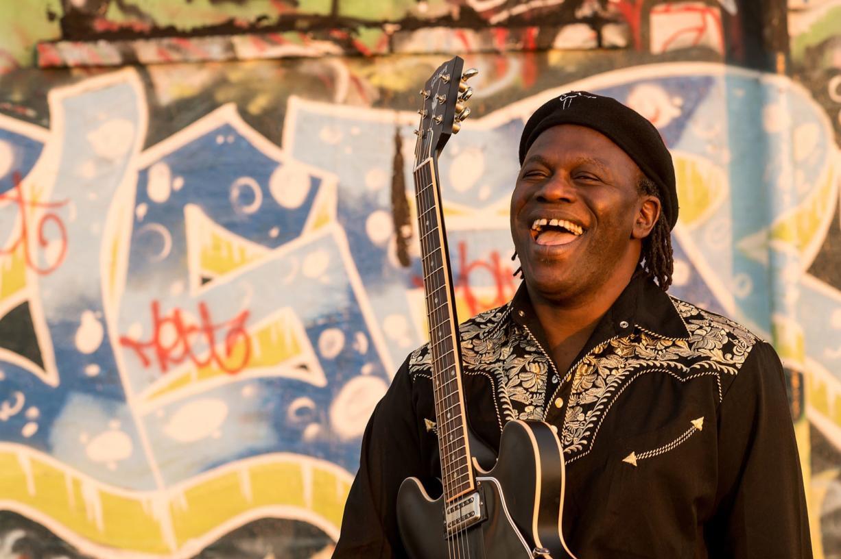 Blues musician Joe Louis Walker will perform April 17 at Jimmy Mak's in Portland.