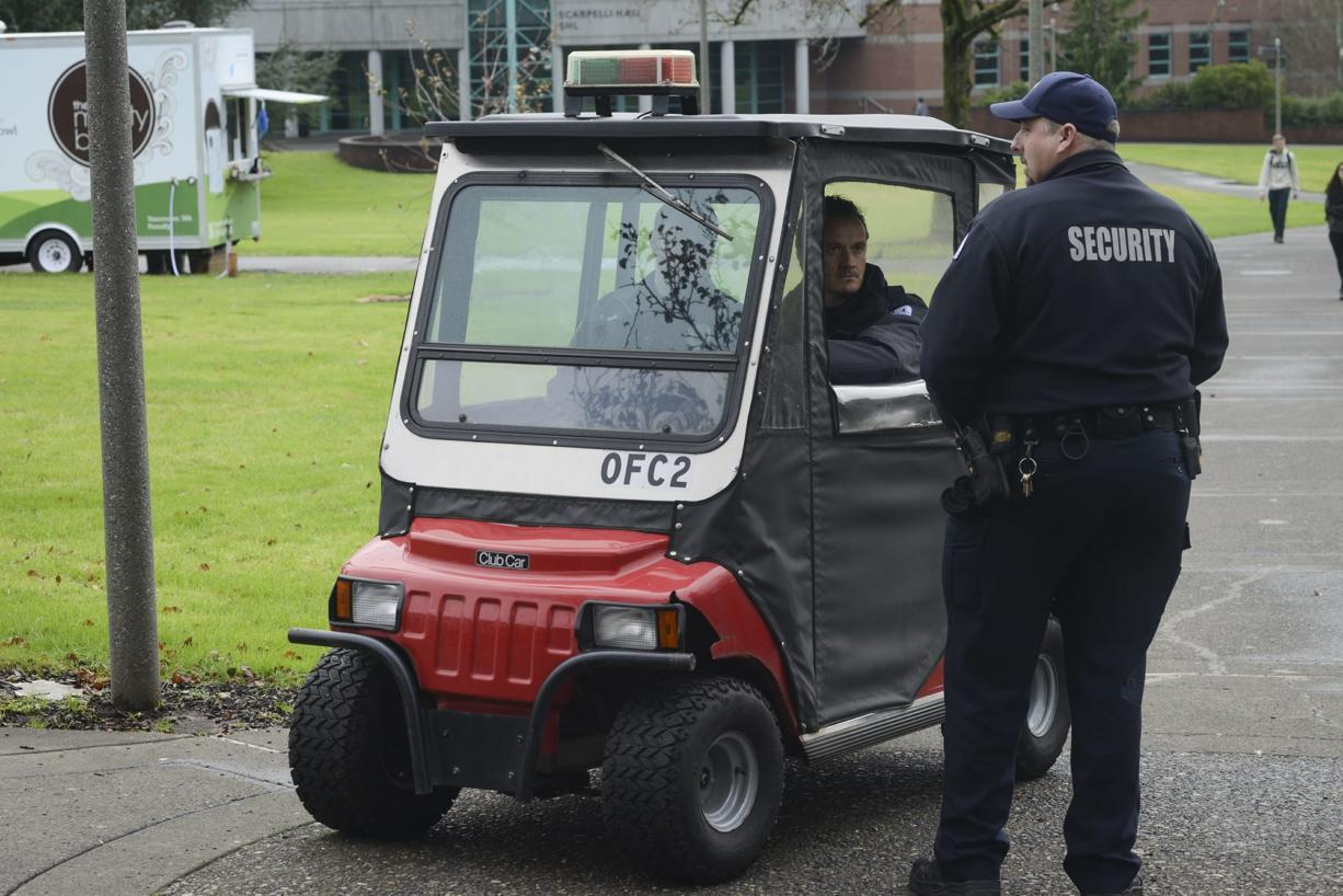 Clark College explores idea of hiring campus police officers - The Columbian