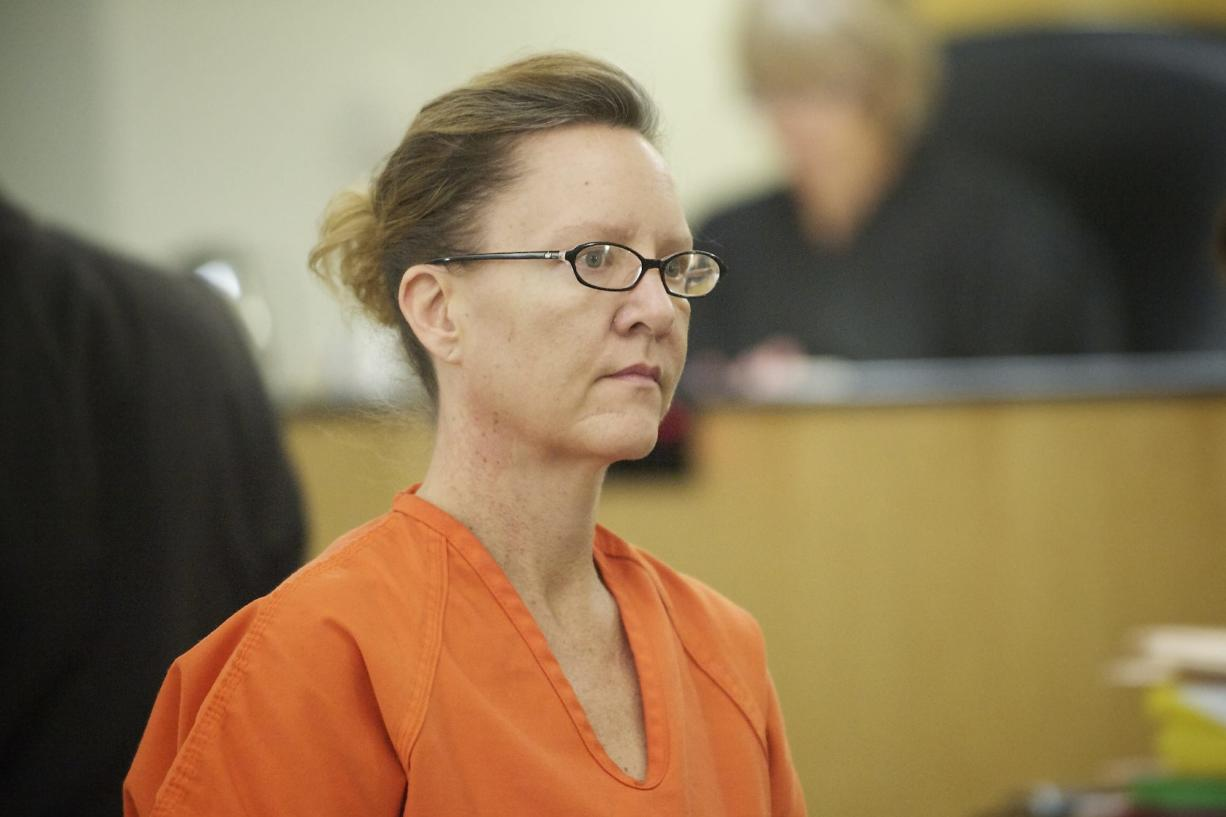 Deborah Lennon appears in Clark County Superior Court today for a hearing on whether she's mentally fit to stand trial.