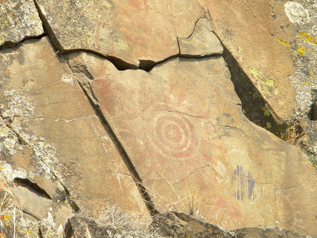 Aboriginal art comes with a view | The Columbian