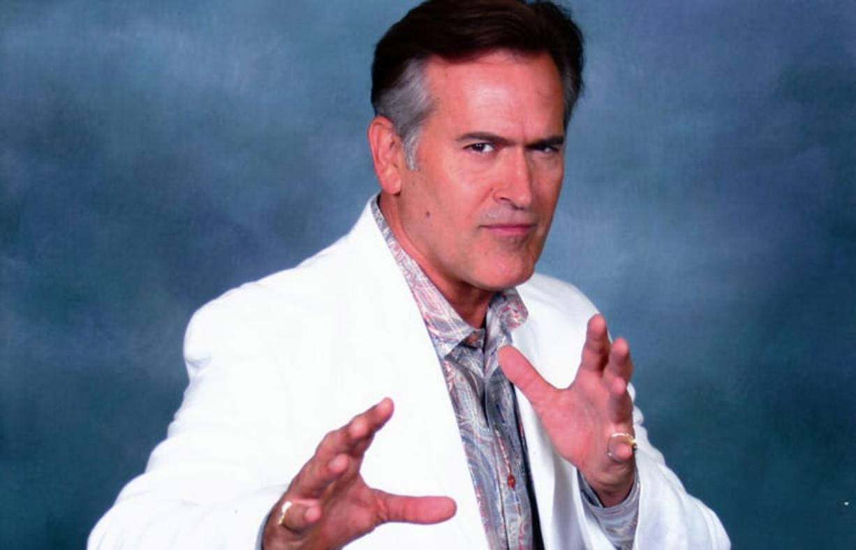 Actor Bruce Campbell will be a featured guest at the Wizard World Portland Comic Con from Friday through Sunday.
