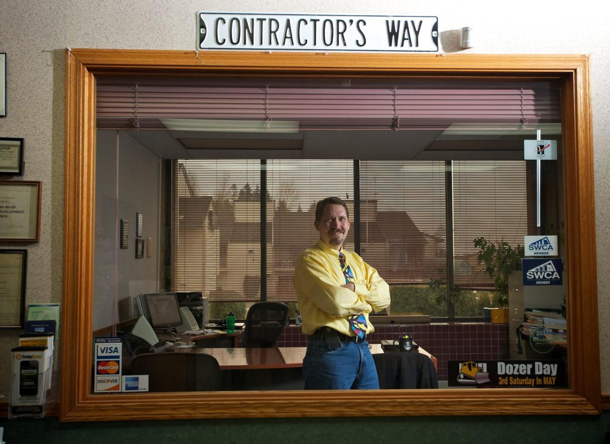 Gary Bock, the new executive director of the Southwest Washington Contractors Association, landed the job in December with an impressive resume of community service and background as the organizer and former executive director of the Vancouver Watershed Alliance.