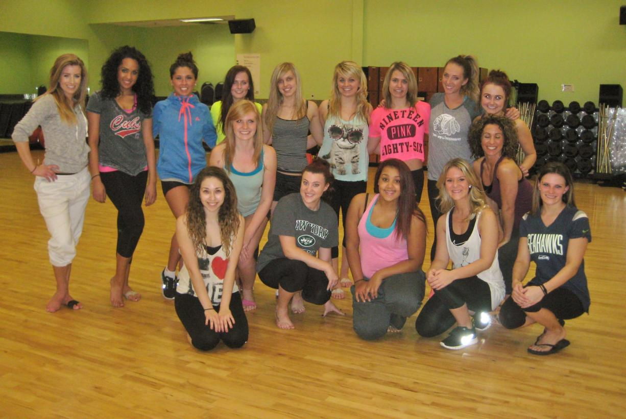 Clark College: The latest Vancouver Volcanoes dance team is getting ready for the 2014 season.