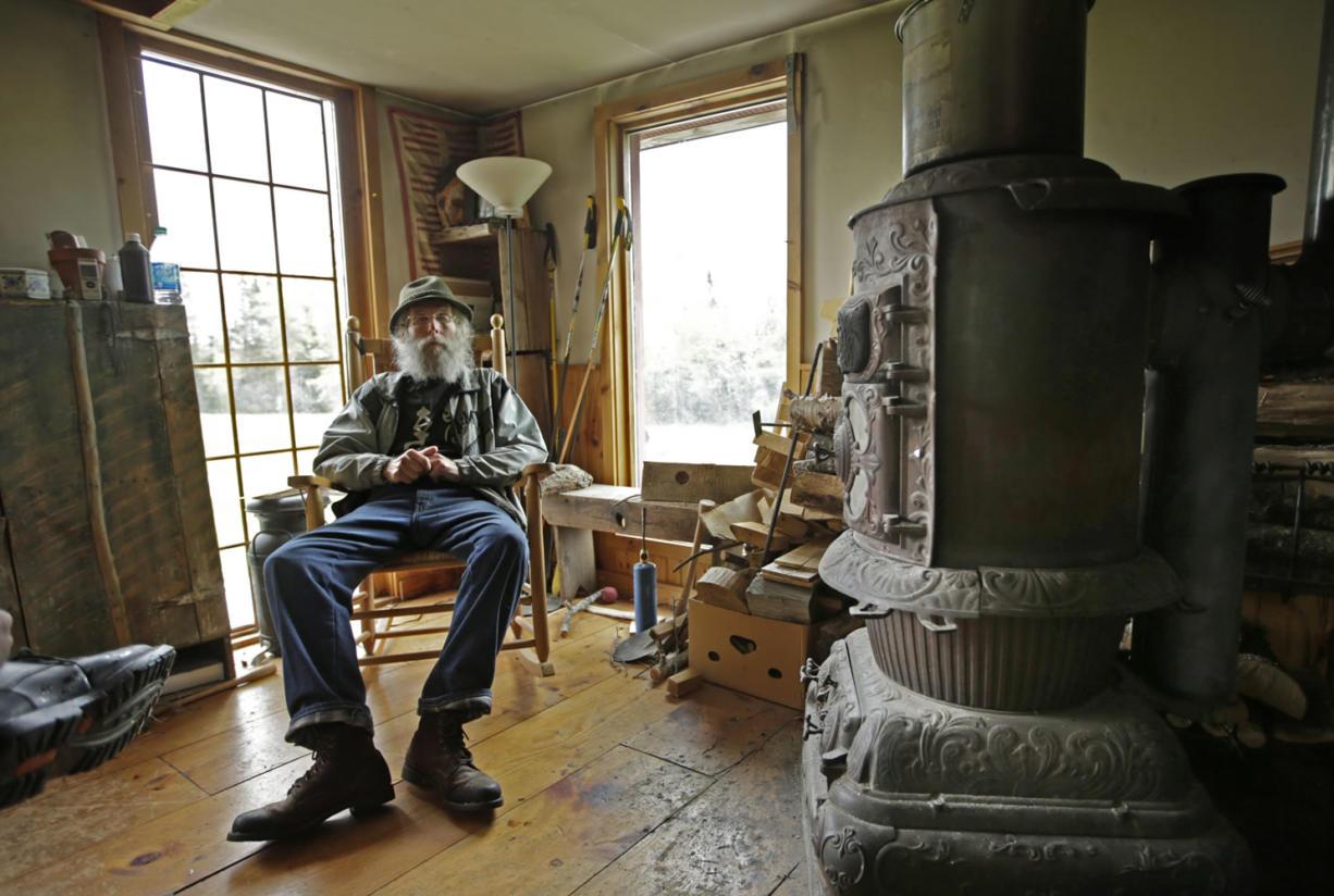 Burt Shavitz, a former beekeeper, lives on 37 acres in Parkman, Maine. Shavitz is the Burt behind Burt's Bees.