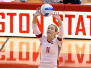 Camryn Irwin, Washington State University volleyball.