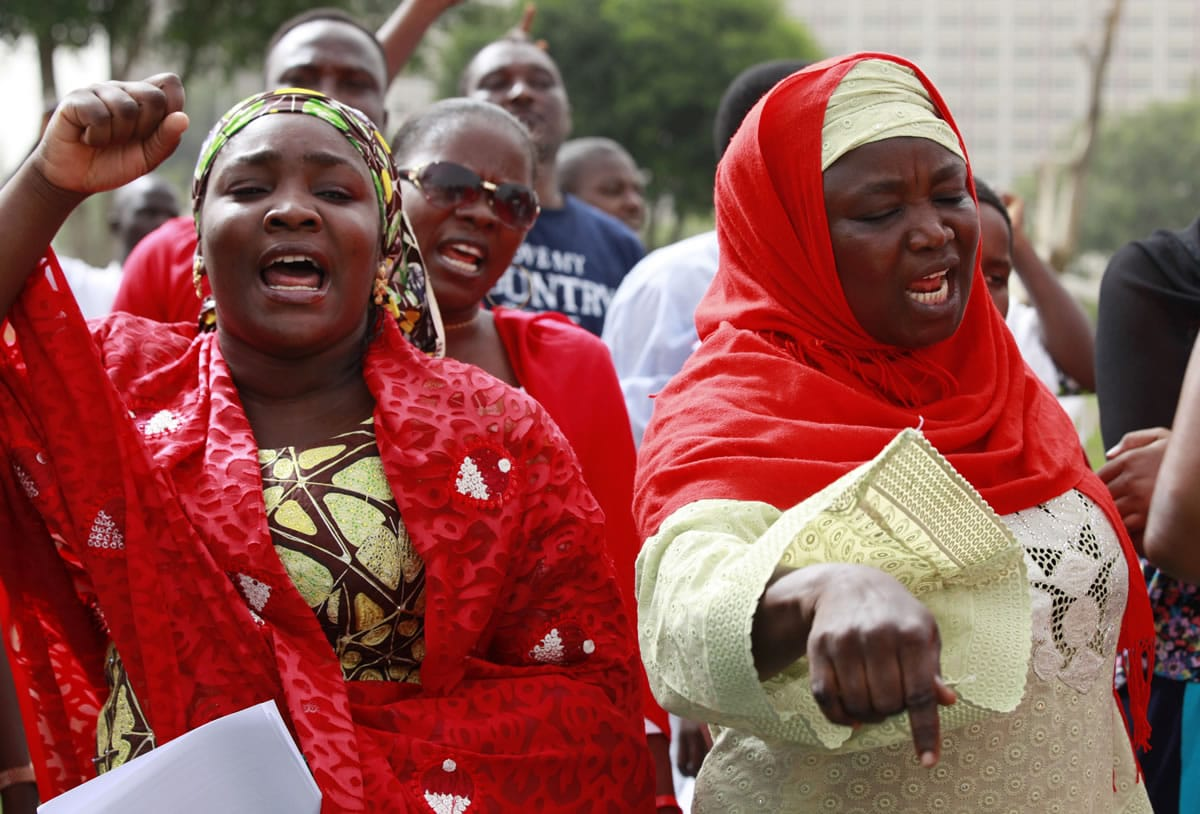 Nigeria Rejected World Help To Rescue Girls - Columbiancom-6044