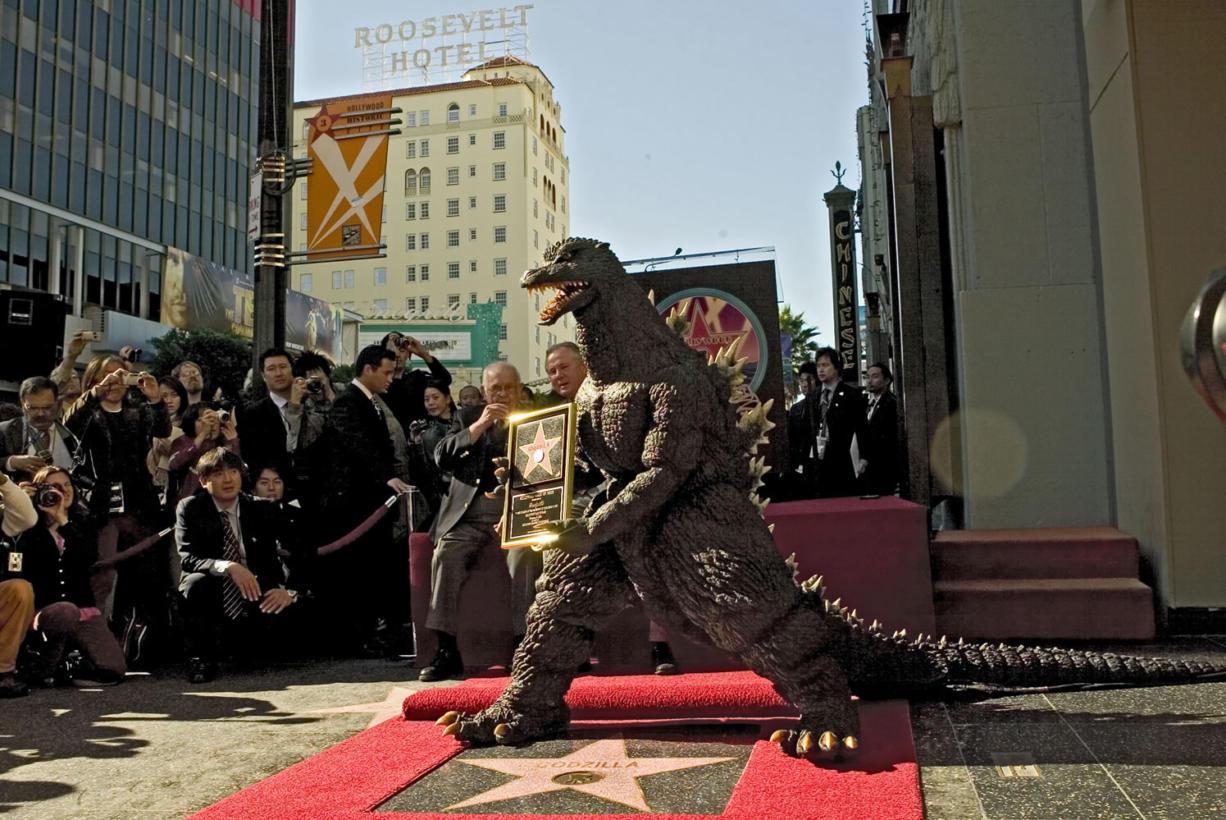 The Godzilla character celebrates its 50th anniversary on Nov.
