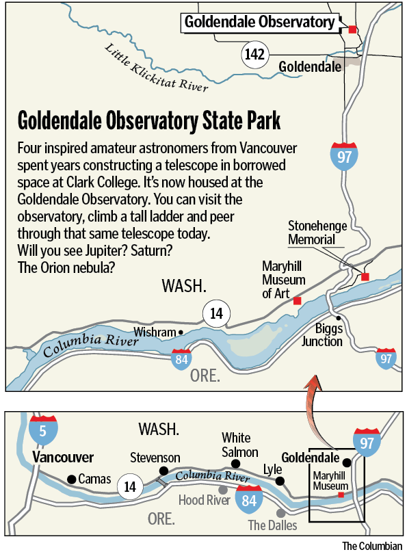 Chasing Galileo in Goldendale - Columbian com