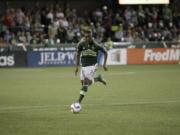 Portland Timbers forward Fanendo Adi.