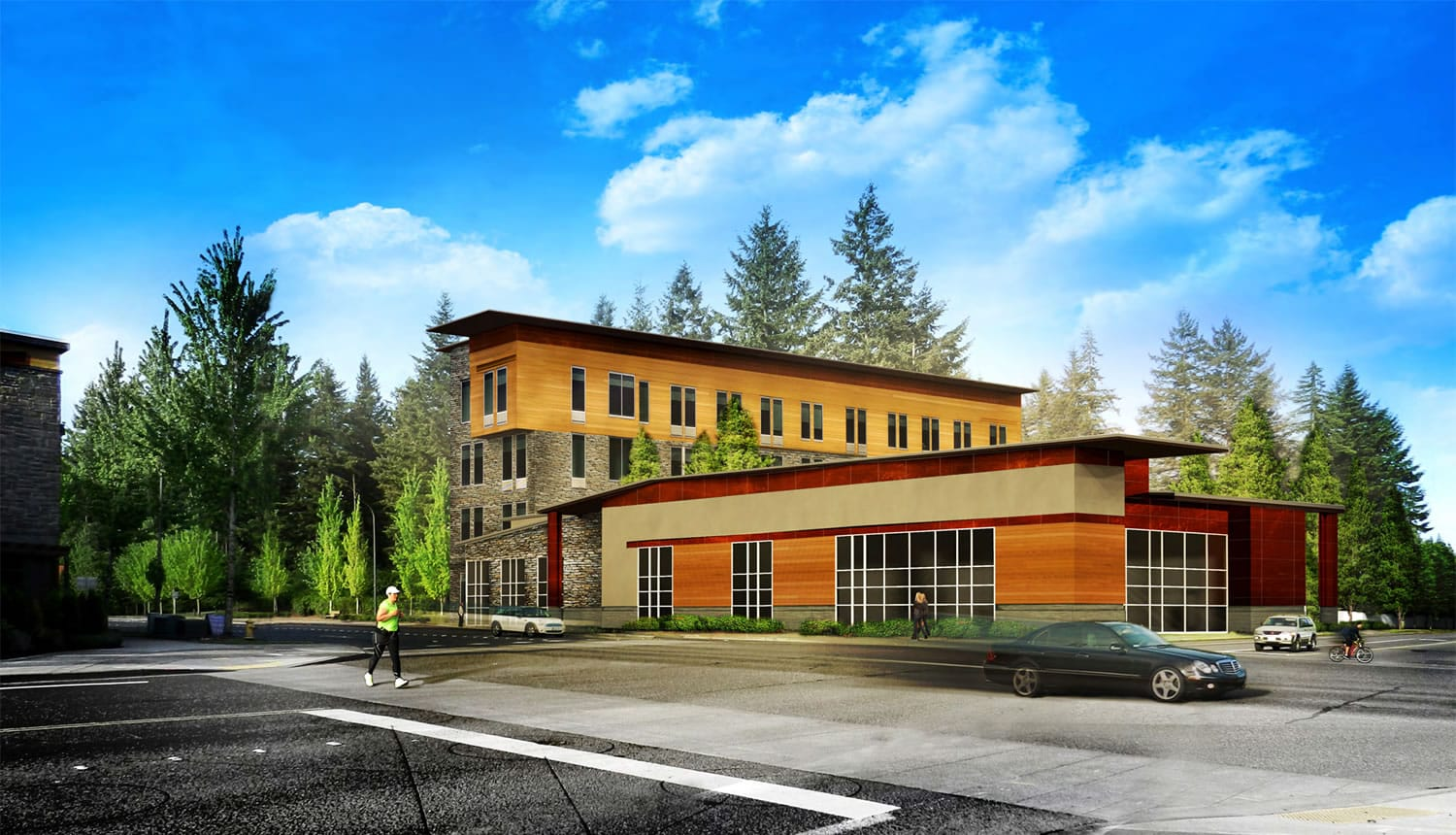 Construction is expected to wrap up this summer on a new Candlewood Suites hotel on 192nd Avenue in east Vancouver.