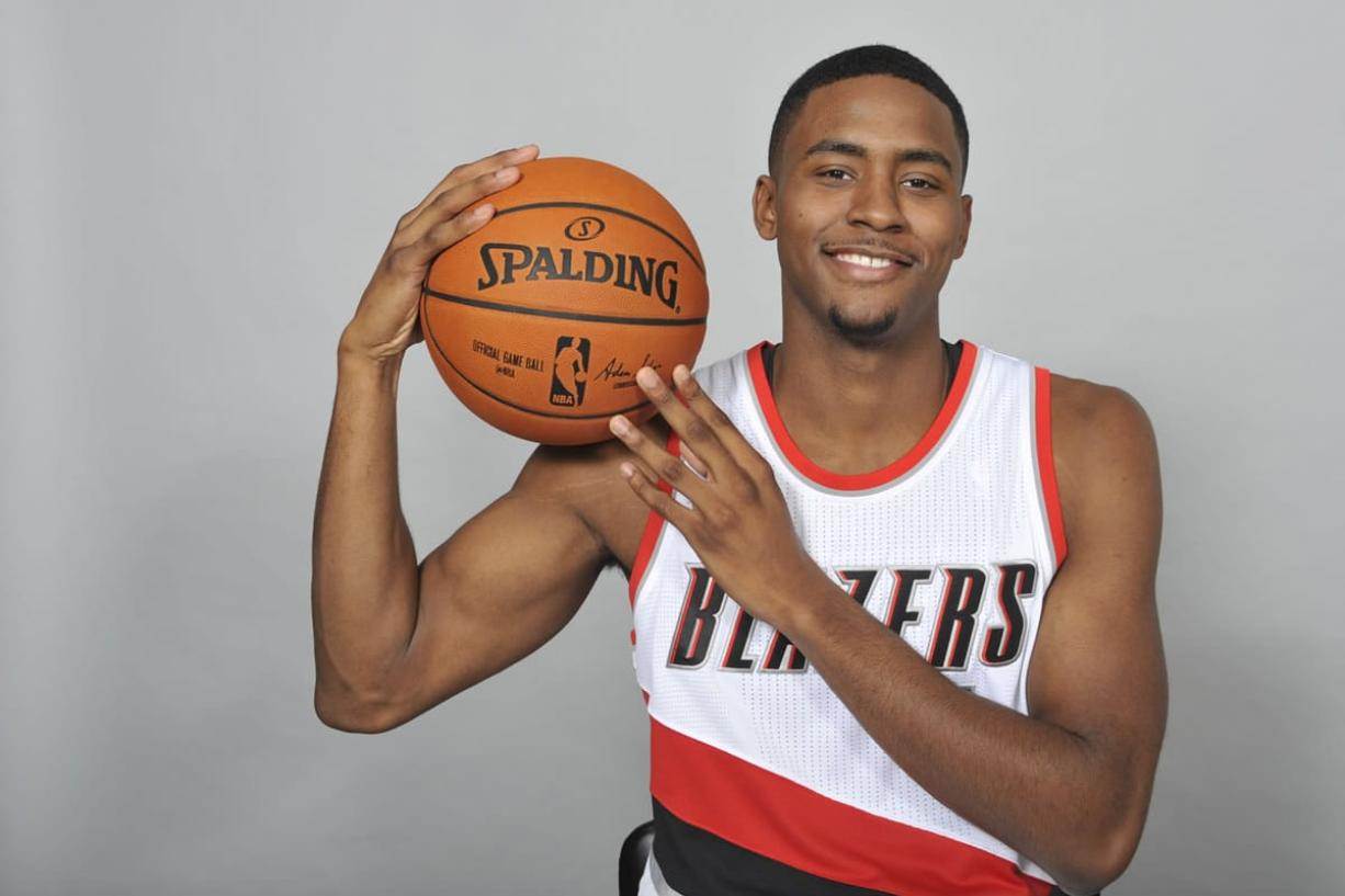 Portland Trail Blazers' Maurice Harkless impressed the team during a pre-draft workout in 2012 before he joined Orlando. (AP Photo/ Greg Wahl-Stephens)