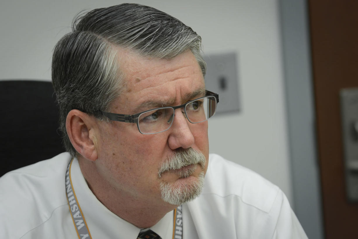 County administrator Mark McCauley was confirmed earlier this year as acting county manager, a new position created by passage of the county charter.  (Ariane Kunze/The Columbian)