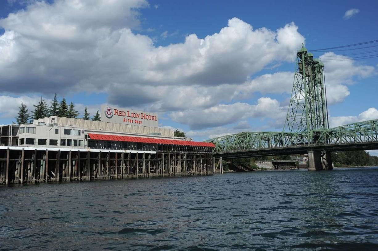 The Red Lion Vancouver at the Quay has been a landmark on the city's waterfront since the 1960s. The hotel closes for good next weekend, leaving behind memories and questions about one or two possible new waterfront hotels.