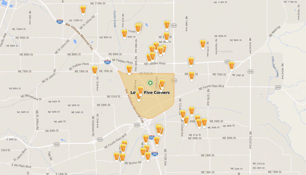 Trick Or Treat Map Trick or treating? There's an app for that | The Columbian Trick Or Treat Map
