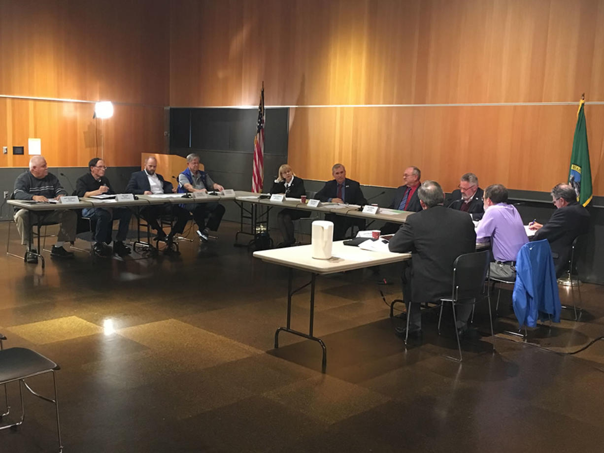 The 11 members of Tuesday's C-Tran panel, all elected representatives of different Clark County jurisdictions, voted 5-4 to end the conference, which had been tasked with looking at expanding C-Tran's boundaries.