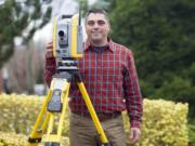 Vancouver resident Frank Costanza has been a land survey technician at Mackay Esposito for 13 years.
