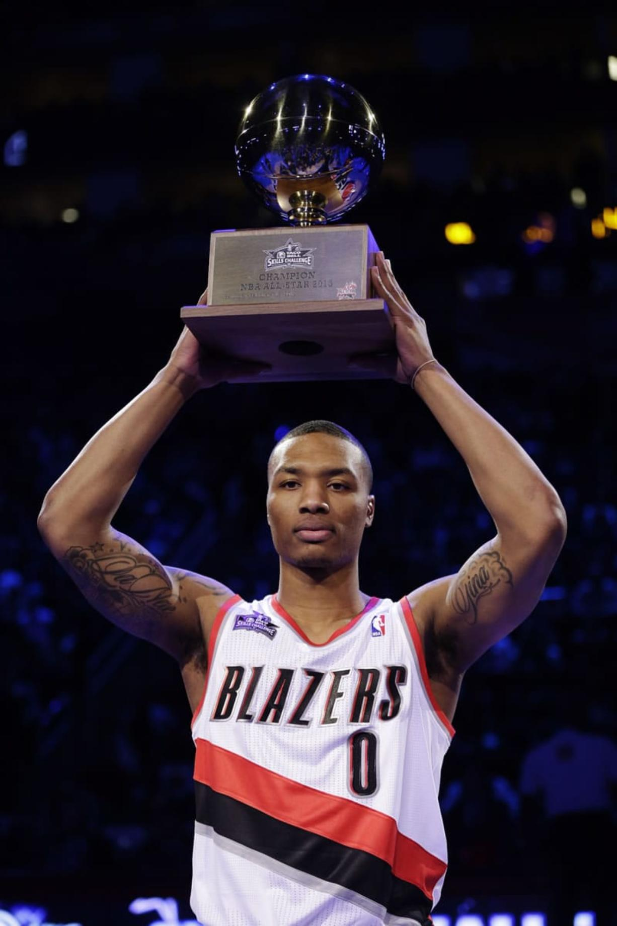 save off 62f3f 57998 Lillard slated for busy All-Star weekend - Columbian.com