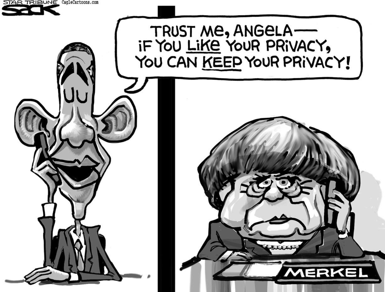 Merkel's Privacy