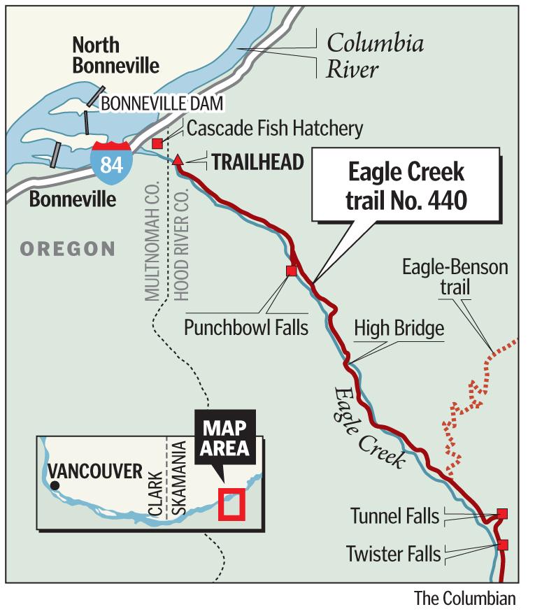 Eagle Creek Trail Oregon portland oregon t Eagle
