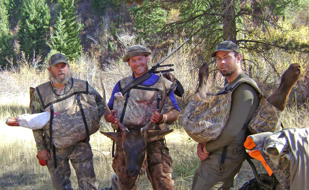 Elk Hunting Family Replaces Pack Frames With Carrier Type