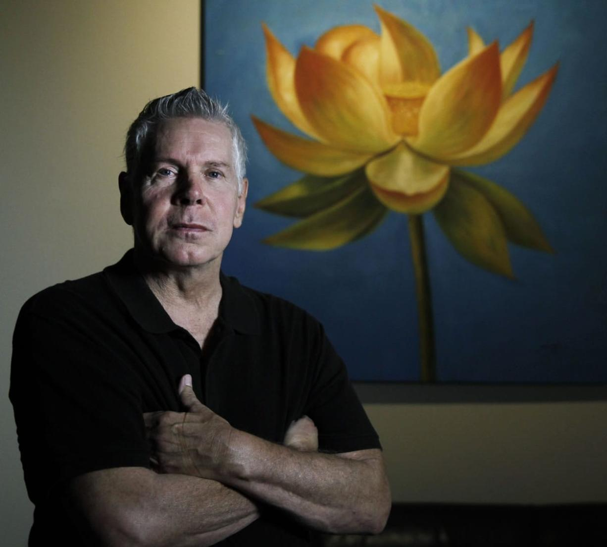 David Woo/McClatchy-Tribune Tom Cassady, 60, of Fort Worth, Texas, has had AIDS since the late 1980s. He volunteers at a couple of AIDS organizations to promote a message of caring and hope.