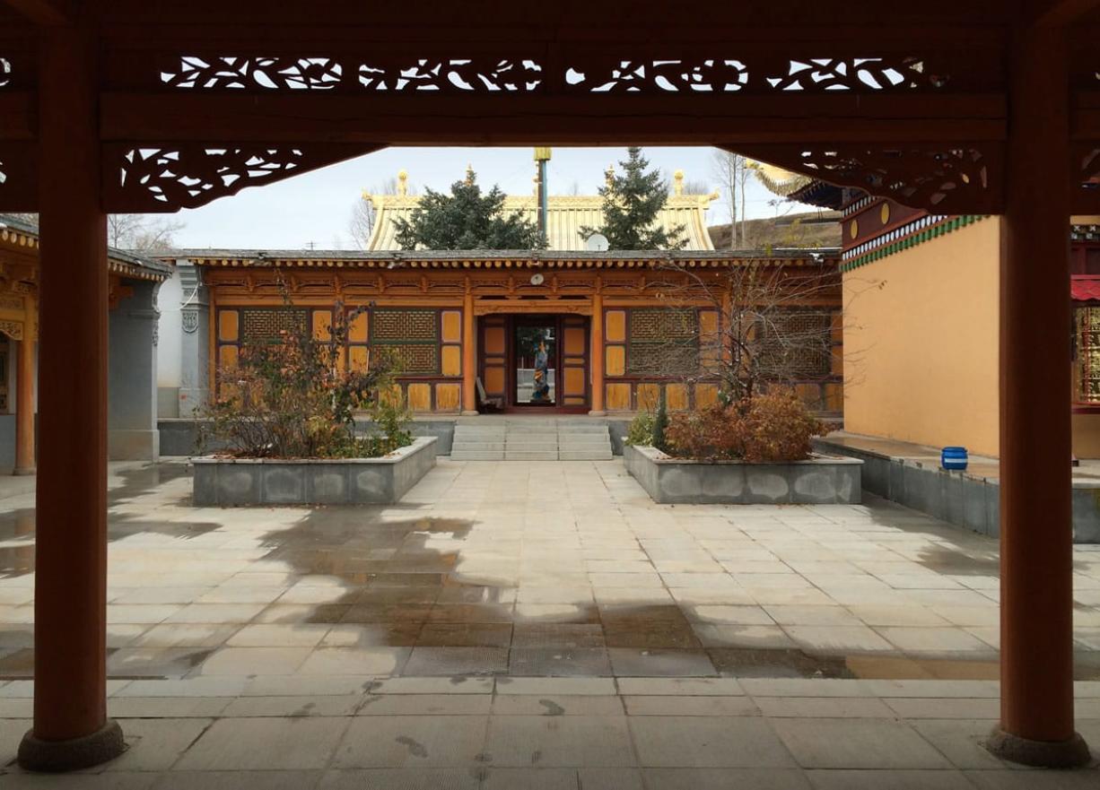 The interior of the home where the 14th Dalai Lama was born has undergone a renovation.